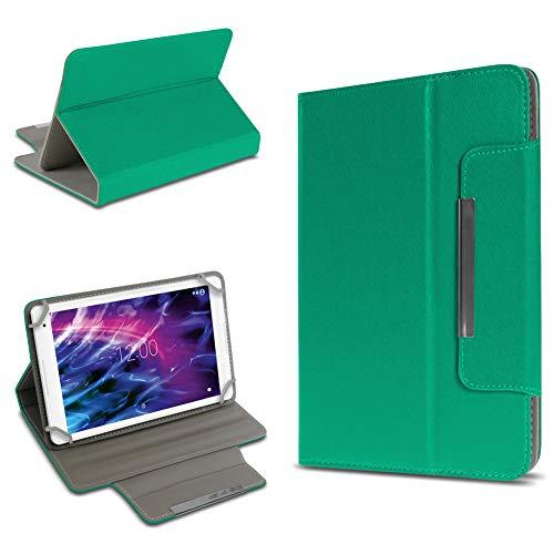 UC-Express Universal Schutzhülle Standfunktion Hülle Medion Lifetab P10610 P10606 P10602 X10605 X10607 S10366 S10365 S10352 P10356 P10341 Tasche Cover Case, Farben:Grün