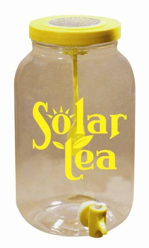 Solar Powered Sun Tea Jar w/o Storage Lid