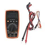 BEVANNJJ ZYY Multímetro Digital electrónico, 81D Profesionales Multímetros Digitales electrónicos, la Resistencia del probador del Voltaje Actual