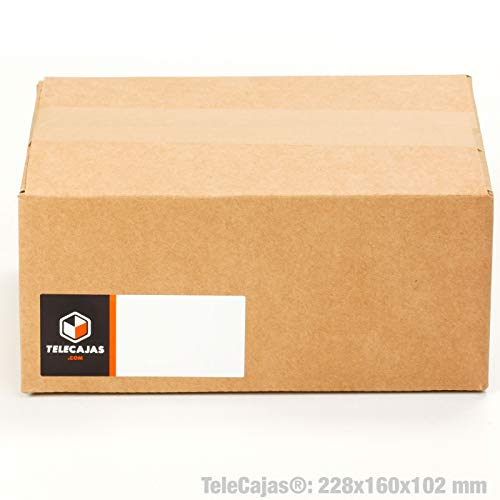 TeleCajas® | (30x) Caja Cartón Pequeña Envios |