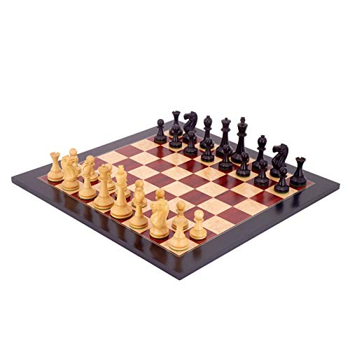 WGH Upscale Chess Piece Match Dedicated Chess Set Ornaments, Board Games Exquisite for Mens and Teens (Color : Chess Set B)