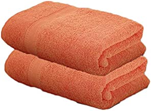AVI Presents 410 GSM 100% Cotton Bath Towel Pack of 2