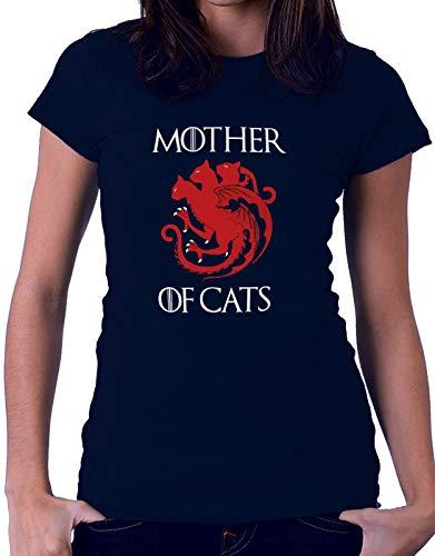 Tshirt Game of Thrones Mother of Cats - Il Trono di Spade - Serie TV - Idea Regalo