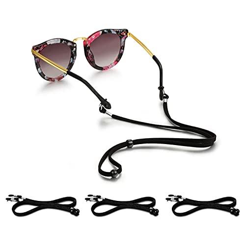 Cordino Per Occhiali, Universale in Forma Laccio Di Corda Di Fissaggio Per Sport Sunglass Occhiali (4 Pezzi)
