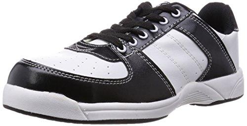 [キタ] 安全靴 作業靴 メガセーフティ 軽量ローカットタイプ MK-7730 ホワイト/ブラック 30 cm