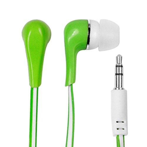 VAKOSS–msonic Stereo Earphones silicone mh132ee Green