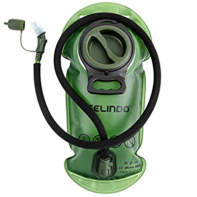 Gelindo Hydration Bladder 3L/ 2.5L/ 2L, BPA-Free Hydration Resevoir Leak-Proof Large Opening and Quick Release Insulated Tube, Water Pack Replacement with Shutoff Valve for Hiking Cycling Camping