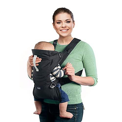 Chicco Easy Fit - Chicco Easy Fit - Sac à dos ergonomique porte-bébé, de 0 à 9 kg, couleur noir