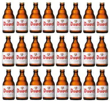 Caja cerveza Duvel 24 botellas x 33cl