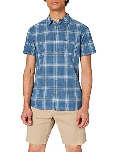 Wrangler Pocket Shirt Camicia, Blu Scuro, M Uomo