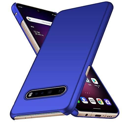 Avalri für LG V60 ThinQ 5G Hülle, Superdünne Handyhülle Hardcase aus PC Stoß- & Kratzfest Kompatibel mit LG V60 ThinQ 5G (Blau)