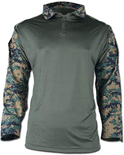 Mil-Tec Tactical Hemd Warrior digital Woodland Gr. L