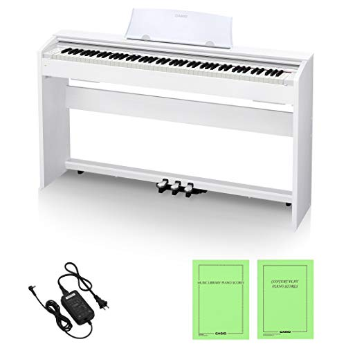 Casio PX-770WE 88keys Bianco pianoforte digitale 18 W, 1391 mm, 299 mm, 798 mm, 31,5 kg, USB tipo B