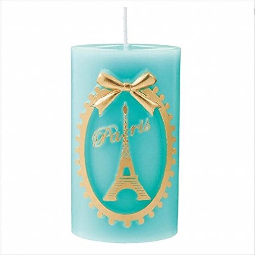 タヒチ活気づく十億カメヤマキャンドル(kameyama candle) エッフェル塔ピラー 「 エメラルド 」