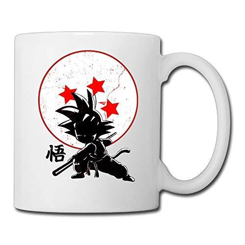 Goku Dragon Ball Z Tazas Tazas De Café Arte De Porcelana Vino Whisky Cerveza Taza De Cerámica-White_Box_Packing
