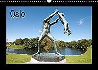 Oslo (Wandkalender 2022 DIN A3 quer): Perle des Nordens (Monatskalender, 14 Seiten )