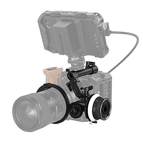 SMALLRIG Mini Follow Focus Objektiv-Zoomsteuerung für DSLRs/spiegellose Kameras, für Sony A7 A9 BMPCC 4K 6K Pro GH5-3010