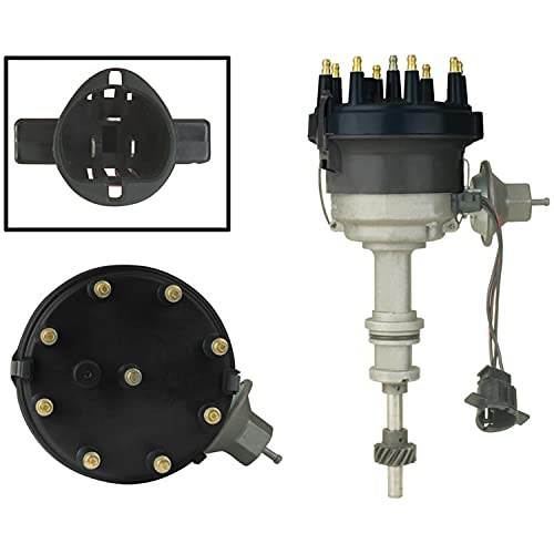New Distributor Replacement For 1977-1985 Replacement Ford Thunderbird Granada, Lincoln Mercury 4.2 255 5.0 302, Replaces D4BE 12127-FA, D4DE 12127-CA, D4DE 12127-MA