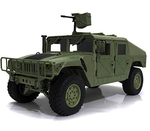 Integy RC Model Hop-ups C29000 HG-P408 1/10 4X4 RC Military Humvee ARTR w/2.4GHz Remote, Sound & Light Upgrades