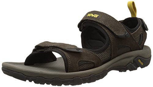 Teva Men's Katavi Outdoor Sandal,Brown,12 M US
