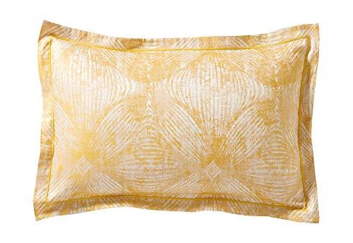 Blanc des Vosges Taie Cosmos Miel 50 x 75 cm, Coton