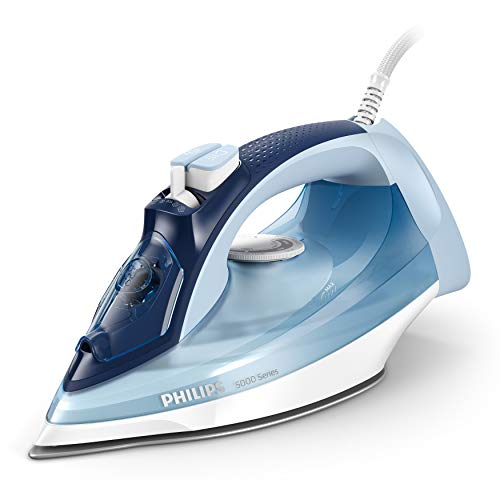 Philips Steam Iron 5000 Series, 2400 W Power, 40 g/min Continuous Steam,...