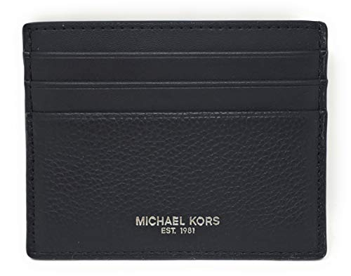 Michael Kors Men's Cooper Tall Card Case Wallet Black