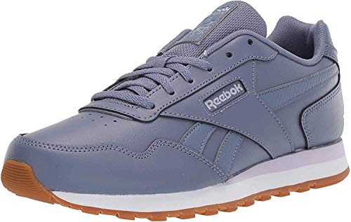Reebok Women's Classic Harman Run Shoe, Washed Indigo/Lilac/White/Gum, 8 M US