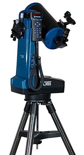 Meade Instruments LX65 Telescopio Maksutov-Cassegrain de 5 Pulgadas con tecnología AudioStar Goto