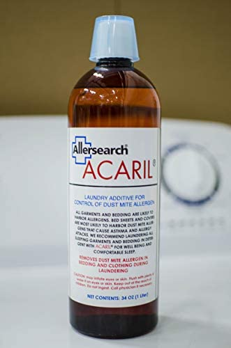 Allersearch ACARIL Laundry Additive 34 Oz 1 Liter product image