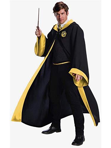 Charades Hufflepuff Student Adult Costume, As Shown, Medium