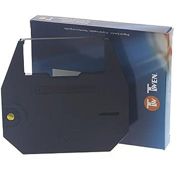 Farbband f/ür die Triumph-Adler Twen T 320 DS Schreibmaschine Marke Faxland kompatibel