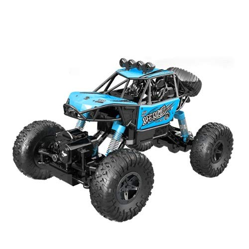 YANDFXSOP Coche de Control Remoto de Truco, Bigfoot 4WD Vehículo Fuera de la Carretera Cochecito de montaña 1:16 Drift de Alta Velocidad Coche de Juguete 2.4GHz RC Monster Truck para niños Adultos