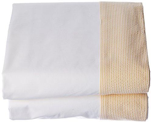 Essix Drap de lit, Coton, Jonquille, 270x300 cm