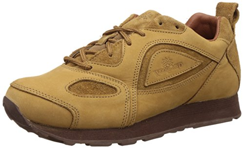 Woodland Men's Camel Leather Sneakers - 9 UK/India (43 EU) (G 777WS)