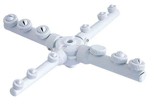 Omniwash waskruis voor vaatwasser, EP boven/onder, inbouw ø 12/45 mm, 11 sproeiers, 6 spoelmondstukken, 5 sproeiers, waskarm, 315 mm