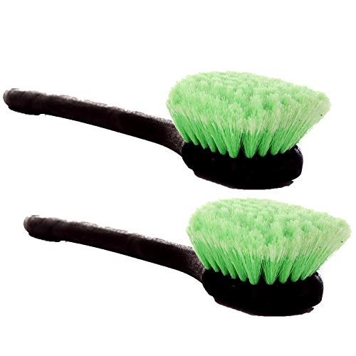 CARCAREZ Car Soft Wheel Rims Cleaning Brush with Feathered...