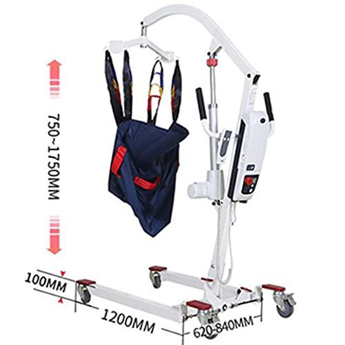 41xD0Cnw51S. SL500  - JFNV-Grúa Eléctrica para Elevación Y Traslado De Pacientes,Fácil De Usar para Minusválidos, Personas Mayores,Soporta 200Kg