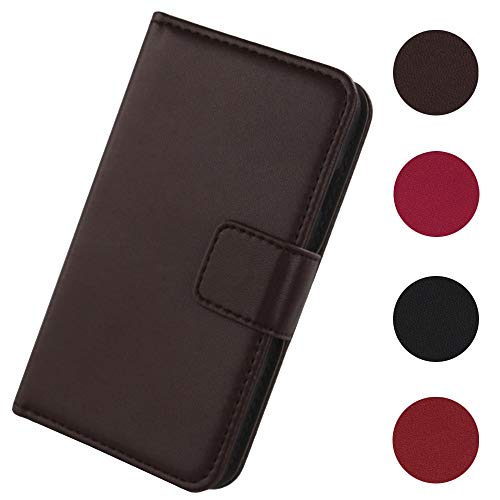 Lankashi Flip Premium Echt Leder Tasche Hülle Für Oukitel C5 Pro 5