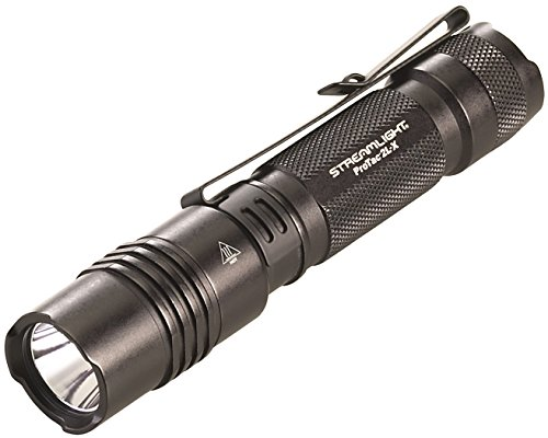 Streamlight 88082 ProTac 2L-x USB Includes Rechargeable Battery Cord & Holster Clam Tactical Flashlights - 500 Lumens , Black
