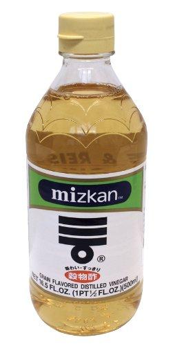 Mizkan Reis/Getreideessig, 2er Pack (2 x 500 ml)