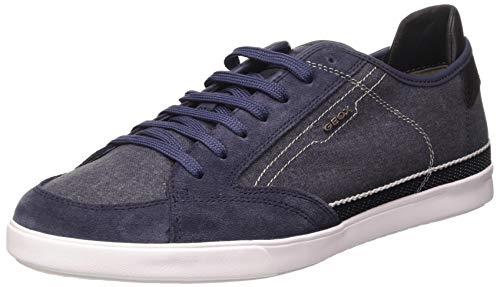 Geox U WALEE A, Zapatillas Hombre, Azul (Navy C4002), 44 EU