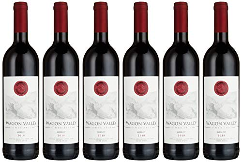 Wagon Valley Merlot Rotwein 2018 75 cl (6 Flaschen)