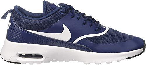 Nike Damen Wmns Air Max Thea Gymnastikschuhe - Blau (Navy/white Black 419) , 38.5 EU
