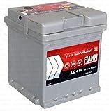 Fiamm Titanium Plus L044+, batteria per automobile, 44Ah, 390A, polo positivo a destra