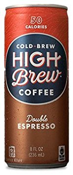 High Brew Coffee - Double Espresso - 8oz(Pack of 30)