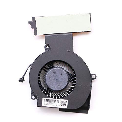 DXCCC Ventilador de ordenador portátil para HP Omen 15-DC 15-DC0013TX 15-DC0004TX 15-DC0005TX 15-DC0007TX 15-DC0011TX 15-DC0123TX 15-DC0153TX CPU Ventilador de refrigeración L30203-001 L30204-