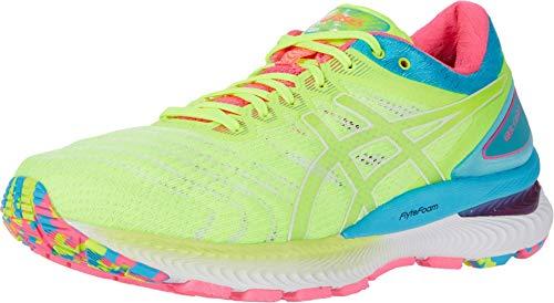 ASICS Women's Gel-Nimbus 22 Running Shoes, 9M, Safety Yellow/Safety Yellow