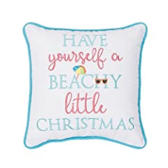 UNIQUE DESIGN: Style your favorite space with this intricately embroidered pillow from C&F Home. Perfect for taking your holiday décor to the next level, this pillow is the perfect addition to your home. HIGH QUALITY MATERIAL: Crafted of soft cotton ...