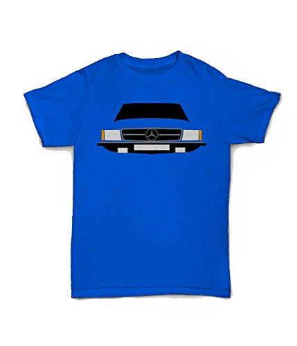 Retro Motor Company Mercedes SL T-Shirt gelb